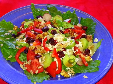 tasty spring salad